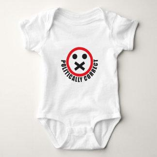 Body Para Bebé mire su boca y esté político correcto