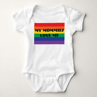 Body Para Bebé Mis mamás me aman