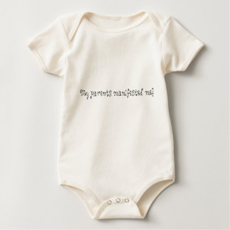 Body Para Bebé ¡Mis padres me manifestaron!