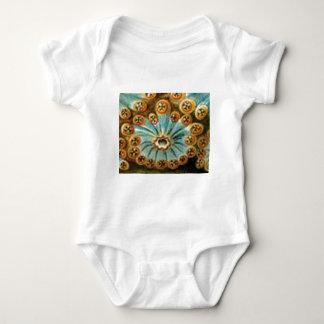 Body Para Bebé modelo poner crema azul fresco