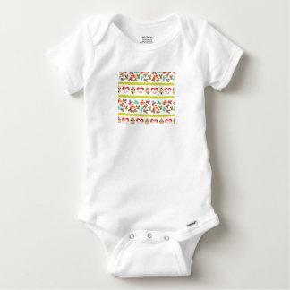 Body Para Bebé Modelo psico de Pascua colorido