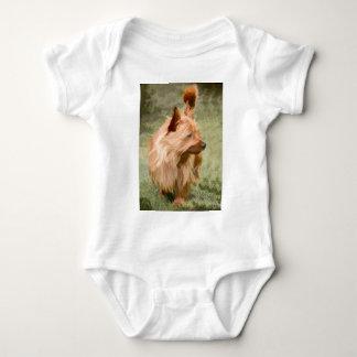 Body Para Bebé Mojón Terrier - pintura
