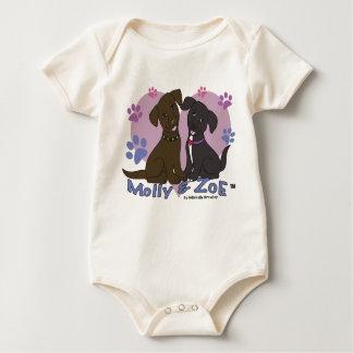 Body Para Bebé Molly y Zoe