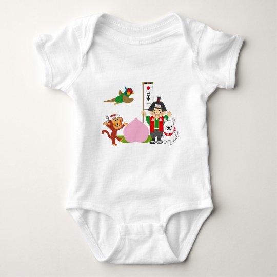 Body Para Bebé Momotaro Japón