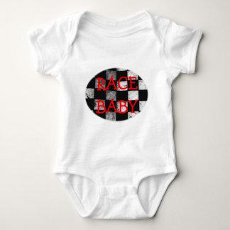 Body Para Bebé Mono a cuadros del personalizable de la bandera