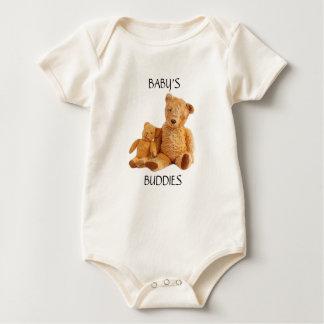 Body Para Bebé Mono adaptable del oso de peluche para el bebé