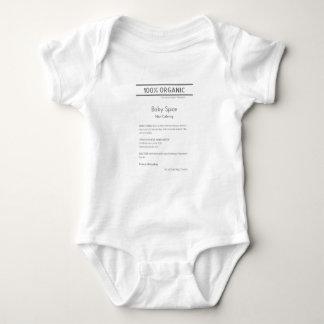 Body Para Bebé Mono de la especia del bebé