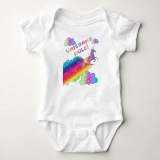Body Para Bebé Mono de la regla de los unicornios