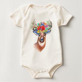 Body Para Bebé Mono de los ciervos el | de Boho