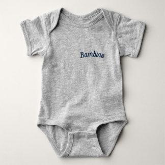 """Body Para Bebé Mono de Mammaprada del Bambino/del """"bebé"""", gris"""