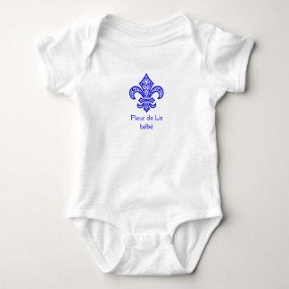 Body Para Bebé Mono de una pieza del bebé del bébé™ de la flor de