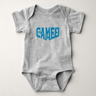Body Para Bebé Mono del bebé con el logotipo del camafeo