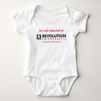 Body Para Bebé Mono del bebé de Chiro