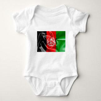 Body Para Bebé Mono del bebé de la bandera de Afganistán