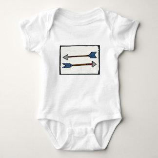 Body Para Bebé Mono del bebé de la flecha