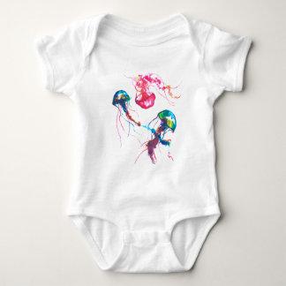Body Para Bebé Mono del bebé de las medusas