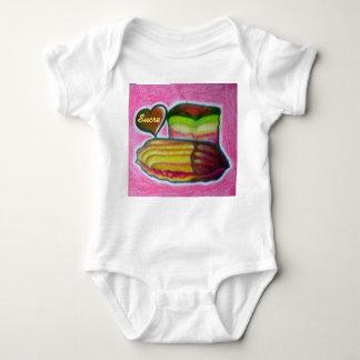 Body Para Bebé mono del bebé de Sucre