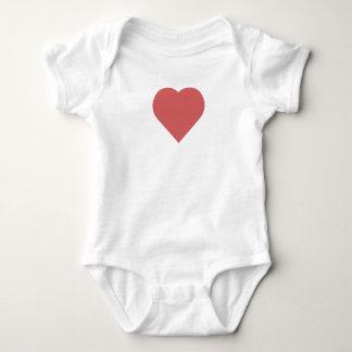 Body Para Bebé Mono del bebé del corazón