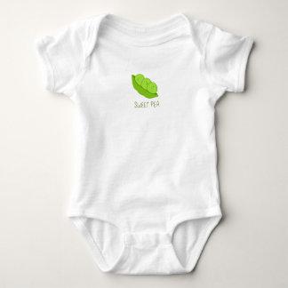 Body Para Bebé Mono del bebé del guisante de olor