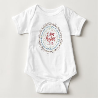 Body Para Bebé Mono del bebé - dramas de período de Jane Austen