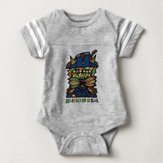 """Body Para Bebé Mono del deporte del bebé de """"Napoleon Kat"""""""