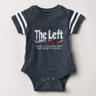 Body Para Bebé Mono del fútbol del bebé - la izquierda, definida…