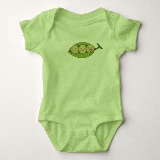 Body Para Bebé Mono del niño del guisante de olor