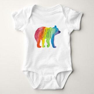 Body Para Bebé Mono del orgullo de la familia de la acuarela del