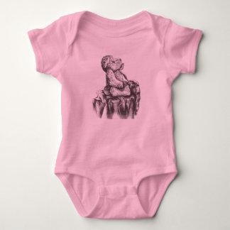 Body Para Bebé mono del oso de peluche