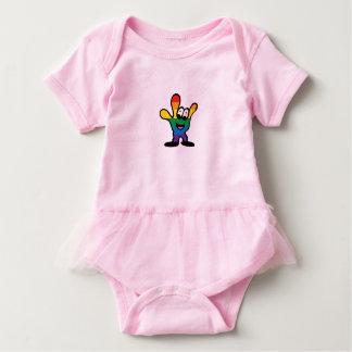 Body Para Bebé Mono del tutú del bebé de ILY