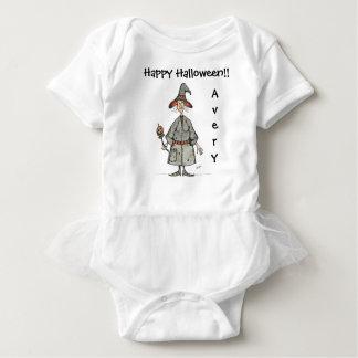 Body Para Bebé Mono del tutú del bebé de la bruja del feliz