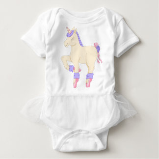 Body Para Bebé Mono del tutú del bebé del unicornio del ballet