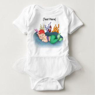 Body Para Bebé Mono del tutú del bebé el dormir Merbaby