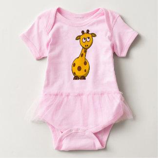 Body Para Bebé Mono del tutú del bebé - jirafa