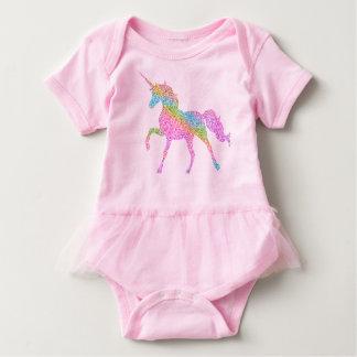 Body Para Bebé Mono del tutú del bebé - unicornio del arco iris