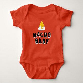 Body Para Bebé Mono divertido del bebé del Nacho
