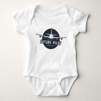 Body Para Bebé Mono experimental futuro
