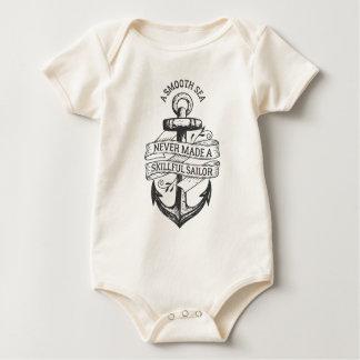 Body Para Bebé Mono experto del marinero del mar liso inspirado