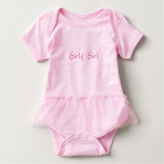 Body Para Bebé Mono femenino del tutú del bebé del chica