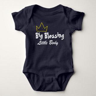 Body Para Bebé Mono grande del bebé de la bendición