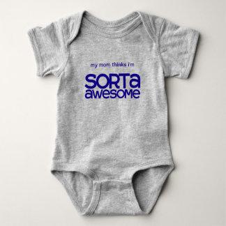 Body Para Bebé Mono impresionante del bebé de Sorta