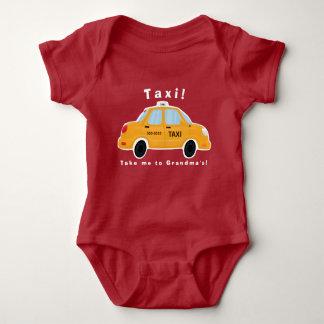Body Para Bebé Mono lindo del bebé del taxi