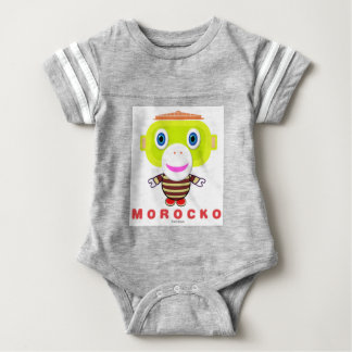 Body Para Bebé Mono Morocko-Lindo