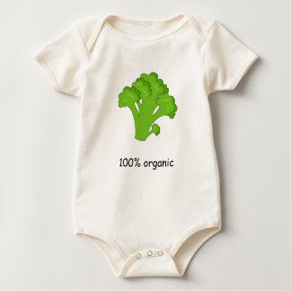 Body Para Bebé Mono orgánico del bebé del 100%