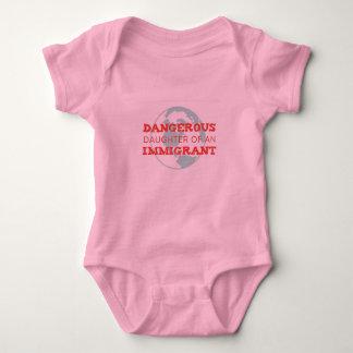 Body Para Bebé Mono político cargado del bebé