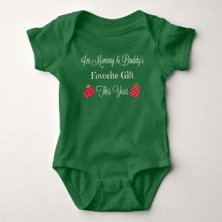 Body Para Bebé Mono preferido del verde del regalo de la mamá y