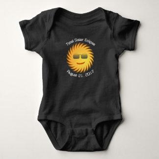 Body Para Bebé Mono total del bebé del eclipse solar