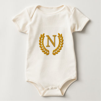 Body Para Bebé Monograma