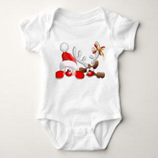 Body Para Bebé monos del navidad