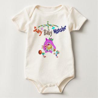Body Para Bebé Monstruo asustadizo del bebé